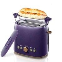 Wholesale XIANGJUN toaster breakfast toaster household automatic toaster toaster household automatic toaster purple brown