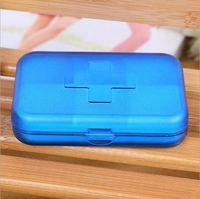 Wholesale Portable Eco friendly Cells Pill Box Travel medicine pills Storage Case Refillable box