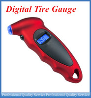 Wholesale Digital Tire Gauge Universal High Accuracy LCD Display Auto Tire Pressure Gauge Motor Tyre Air Pressure meter Bike ATP025 DHL free