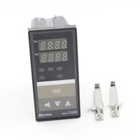 Wholesale PID Temperature Contoller REX C400FK02 M AN B V AN B VAC Relay or SSR Output Electronics Temperature Thermost