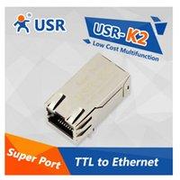 Wholesale USR K2 Low Cost Multifunctional Super Port Serial TTL UART to Ethernet Module