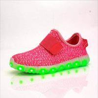 Wholesale 2016 NEW style children s USB charging LED light shoes kids Nightclub dance shoes boys and girls sneaker fashion shoes casual shoes