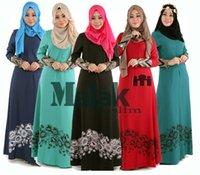 arab ladies - Islamic Abaya Dresses Women Arab Ladies Caftan Kaftan Malaysia Abayas Dubai Turkish Ladies Clothing Women Muslim Dresses