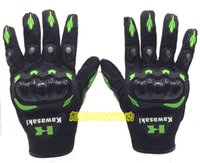 Wholesale for Kawasaki New leather racing gloves motorcycle leather gloves sports waterproof gloves