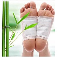 Wholesale 2016 New Cleansing Detox Foot Pads Cleanse Energize Your Body Good Quality set Patches Adhesive