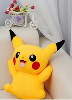 best hand puppets - 2016 Pikachu Plush dolls cm inch Poke plush toys cartoon poke Stuffed animals toys soft Christmas toys best Gifts