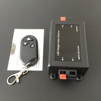 Wholesale Black dimmers RF wireless remote control article v v adjustable lamp brightness