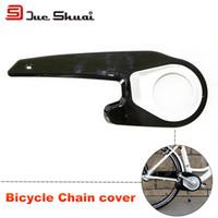 achat en gros de protéger plastique noir-Mountain Road Housse de chaîne pour vélo Kit de protection pour bouclier Plastique noir Guide de montage pour pignons
