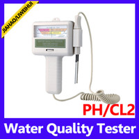 Wholesale Simple operations to test water PH and CL2 water quality tester