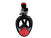 Wholesale New Arrival Scuba Snorkeling Goggles Swimming Diving Snorkel Equipment Full Face Free Breathing Snorkel Mask