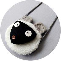 artwork baby - Baby Kid Girls lamb Lovely Button Cute Little Sheep Bags Christmas Party Handbag Messenger Shoulder Bag Candy Pocket Satchel Handbags B6844