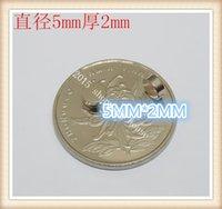 Wholesale Rare earth permanent magnet NdFeB super strong magnetic neodymium magnet rectangular Rectangular magnet Circular magnet x2mm