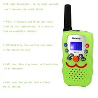 Wholesale New Walkie Talkie RT32 W Channels PMR446 Mhz UHF VOX Scan Call Alarm Monitor LED Flashlight Two Way Radio