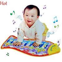 Wholesale Baby Kid Child Piano Toys Music Fish Animal Mat Touch Kick Play Fun Toy Birthday Gift New Play Musical Instrument Toys SV007278