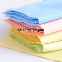 microfiber cleaning cloth - 13 cm Microfiber Cleaning Cloths for LCD LED Tablet Phones Computer Laptop Glasses Lens Eyeglasses Wipes Dust Washing Cloth gsm