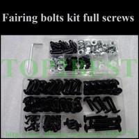 aftermarket yamaha parts - cheap Motorcycle Fairing screw bolts set for YAMAHA YZFR6 YZF R6 black fairings aftermarket bolt screws parts