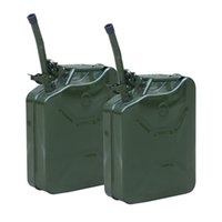 Wholesale Gas Fuel Steel Green pc Gallon Jerry Can Military Nato Style L Storage Tank
