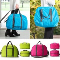 Wholesale New Travel Water Proof Flower girls Travel duffle handbags womens luggage travel bag folding bags Colors