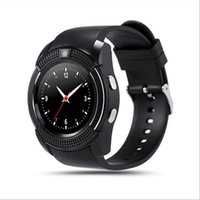 Wholesale V8 Bluetooth Smart Watch Sport Watch Wristwatch Support SIM TF Card Compatible with Android Smartphones Not Just a Smart Watch