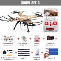 automatic pressure control - DHL free Battery SYMA X8HW X8W Upgrade FPV RC Quadcopter Drone with WIFI Camera G CH Axis RC Helicopter Automatic Air Pressure High