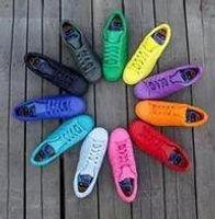 Wholesale Running cheap superstar gold sneakers women zapatillas deportivas men shoes woman supercolor white zapatos mujer zapatillas hombre