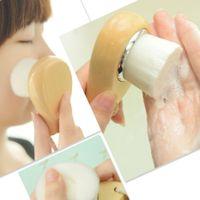 acne wash - Face Wash Brush Cleansing Brush Soft Fiber Face Clean Wash Brush Cleansing Pore Brush Piece