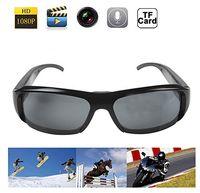 Wholesale 1920 P HD Glasses Sunglasses Mini Camera Camcorder Sports Eyewear DV DVR Audio Video Recorder