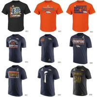 army t shirts - Broncos Super Bowl th Champions T Shirts cheap rugby football jerseys Tshirts Denver navy orange black