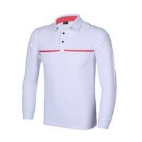 Wholesale 2016 new men Golf T shirt autumn Golf clothes training long sleeve casual Golf polo shirts men Golf sport T shirt quick dry colors shirts