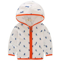 Wholesale Retail New Children Boys Girls Cotton Casual Jacket Coat Sun Protection Clothing With Hoody Kids Air conditioned Shirt Clothes Colors
