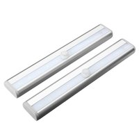 Wholesale Zeroedge Stick on Anywhere Portable LED Wireless Motion Sensing Closet Cabinet LED Night Light Stairs Light Step Light Bar Battery O