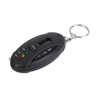 Wholesale Smart Electronics Portable Keychain LED Alcohol Breath Tester Breathalyzer With Timer
