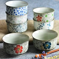 Wholesale BStyle Rice Bowl Tureens Underglaze Color Tableware Soup Hand Painted Craft