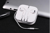 apple earpods - Original iPhone6 plus Earphone Headphone earpods Headset mm Handsfree with Mic Earphones for iphone5s with Retail Box better
