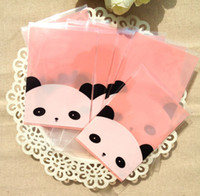 Wholesale 300 Cute Panda Resealable Bakery Gift Candy Soap Cookie Poly Cello Cellophane Bags