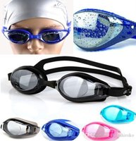 Wholesale Cool Swimming Goggles Waterproof Diving Electroplating Goggles film Anti fog For Women Men sport Swimming Goggles Free DHL