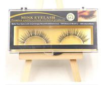 Wholesale False Eyelashes Handmade Natural Long Thick Mink Fur Eyelashes for Beauty Makeup Natural Extension Eyelashes Hot Sale
