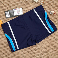 Boy big boys boxers - 12 T New Big Boys Brand Swimwear Boy Striped Patch Swim Trunks Beach Wear Kids Boxer High Quality Swimsuit for Children