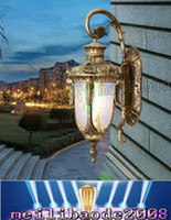 aluminum die castings - European style retro ear villa balcony corridor outdoor wall lamp full LED waterproof wall classic European style aluminum die casting LLFA