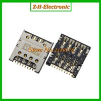 best sockets - Best price sim card socket holder connector for LG F240L S K G2 E980 E988 F320 d415 E985t tray reader