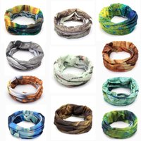 Wholesale Multifunctional Outdoor Sports Bicycle Bandanas Cycling Fishing Neck Scarf Hat Face Masks Headband Ski Snowboard Camping Hiking order lt no