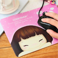 Wholesale Cartoon Mouse Pad cute Skid Resistance Memory Foam Comfort Wrist Rest Support Mousepad PC Mat Computer Accessories