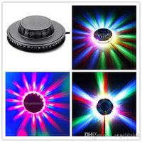 Wholesale RGB Led Party Light Auto Rotating LED Sunflower Stage Lights For KTV Bar Wedding DJ Lighting