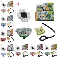 Wholesale Toy Battle Beyblade Spinning Top Plate Gyroscope Beyblades with Wire Launcher Classic Outdoor fun Sport Toys Best Gift