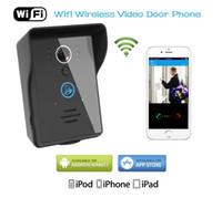 Wholesale Hot Wireless Wifi Video Door Phone Intercom Doorbell with Motion Detection Unlocking Function support ISO Android