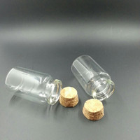 Wholesale 30 mm ml Glass Bottles With Cork For Wedding Holiday Decoration Christmas Gifts