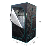 Wholesale Marshydro cm Grow tent black color stock in USA UK Canada Germany Australian Russia free duty