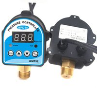 Wholesale High quality digital pressure switch wpc digital display pressure controller for water pump V A kg