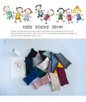 al por mayor kawaii-Calcetines calientes de los niños de los niños del algodón de los calcetines de los niños de los calcetines de los niños calientes de los niños del algodón de Kawaii