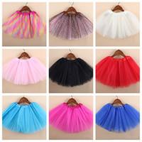 Wholesale 2016 New Style Baby Girls Cute Tutu Skirts Gauze Dance Performances Skirts For Girls All Season